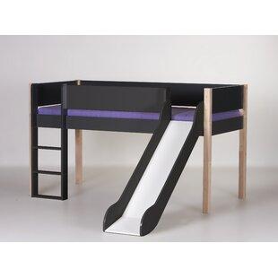 Antwan European Single Mid Sleeper Bed By Harriet Bee