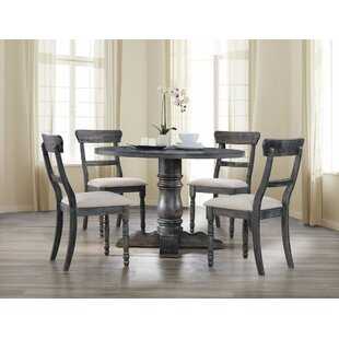 Dendy 5 Pieces Dining Set Gracie Oaks