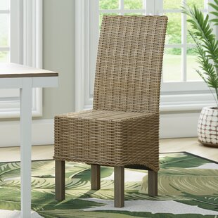 Chelston Solid Wood Dining Chair (Set of 2) Beachcrest Home