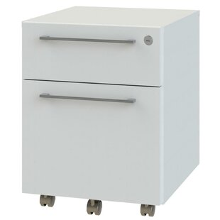 2-Drawer Mobile Filling Cabinet by OfisLite 2019 Sale