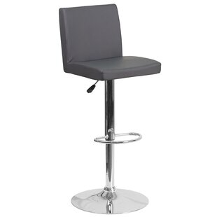 Nolen Adjustable Height Swivel Bar Stool ..