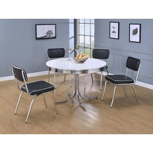 Orren Ellis Yother 5 Piece Dining Set