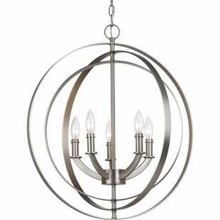 Brayden Studio Morganti 5-Light Pendant