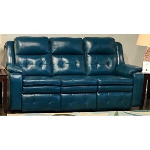 Inspire Leather Reclining Sofa by Southern Motion