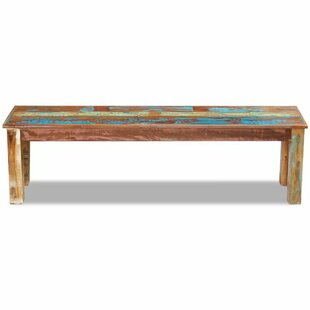 Ciel Wood Bench By World Menagerie
