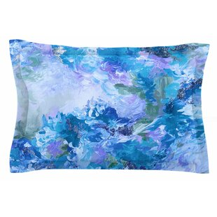 Ebi Emporium 'When We Were Mermaids 15 Blue' Watercolor Sham