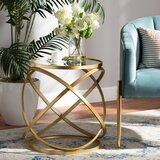 Commercial Use Round Mirrored End Tables You Ll Love In 2021 Wayfair