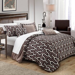 Chic Home Lessie 7 Piece Reversible Comforter Set