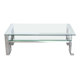 Carlsbad Coffee Table with Magazine Rack