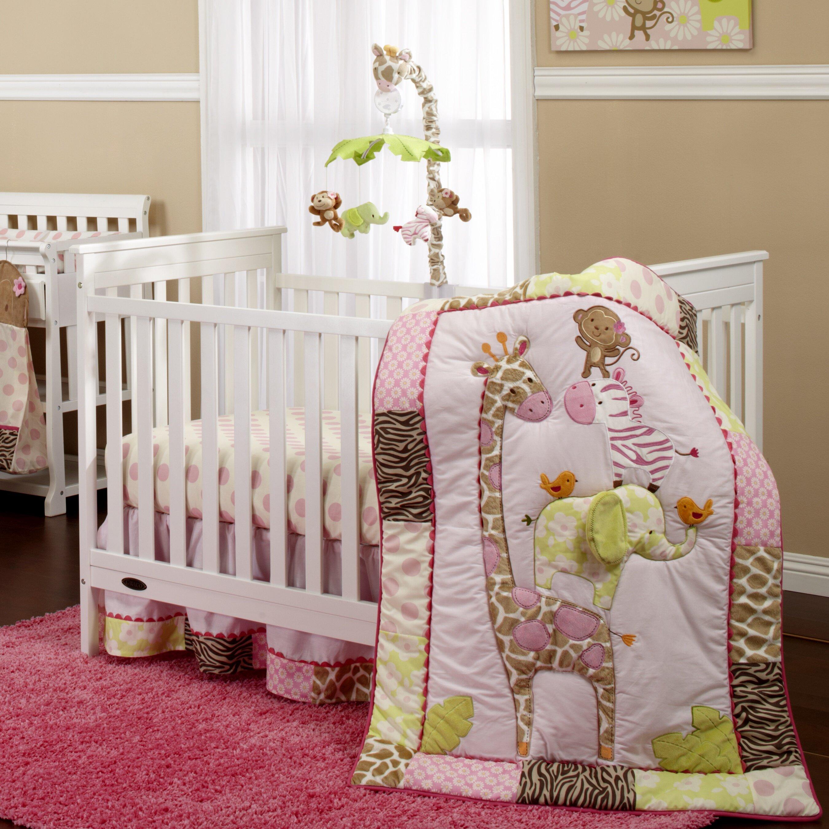 0430de73e24d Carter s Jungle 4 Piece Crib Bedding Set   Reviews