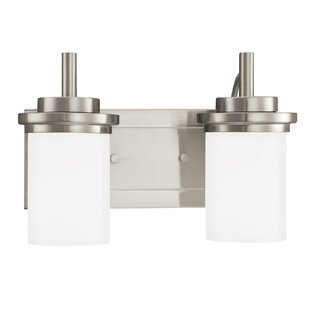 Best Reviews Dashiell 2-Light Vanity Light By Three Posts