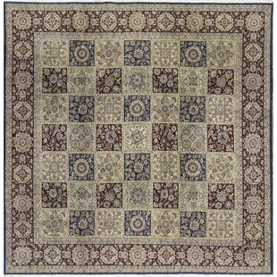 One-of-a-Kind Handwoven Wool Beige/Wine Indoor Area Rug By Bokara Rug Co., Inc.