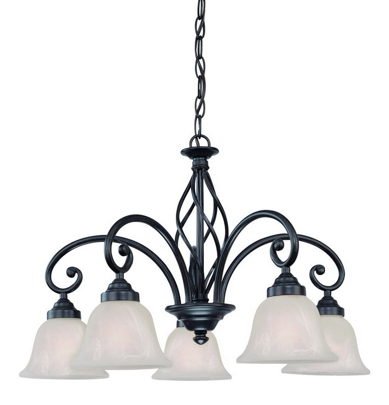 Wicker Park 5-Light Shaded Chandelier  sc 1 st  Wayfair & Dolan Designs Wicker Park 5-Light Shaded Chandelier u0026 Reviews ... azcodes.com