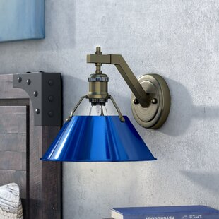 Weatherford 1-Light Armed Sconce by Trent Austin Design