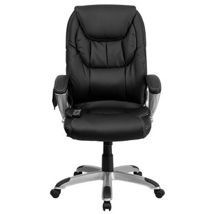 Woodell Executive Chair by Symple Stuff Sale