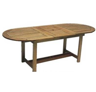 Find for Bridgepointe Eucalyptus Dining Table By Rosecliff Heights