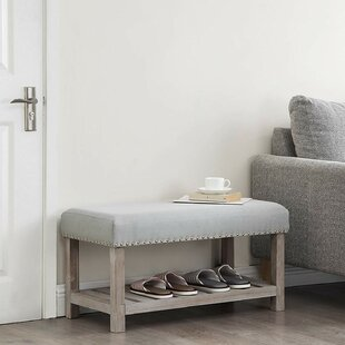 Coston Upholstered Bench by Gracie Oaks