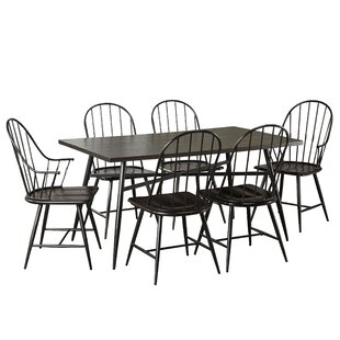 August Grove Poltimore 7 Piece Dining Set