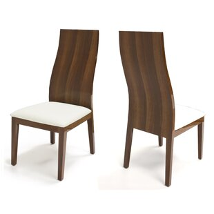 Young Upholstered Dining Chair (Set of 2) by Brayden Studio