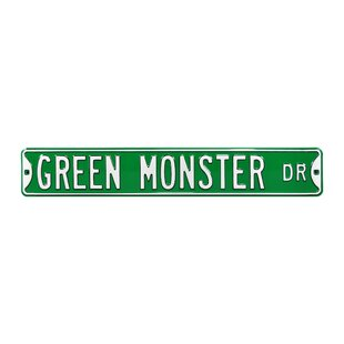Green Monster Dr Boston Red Sox Wall Décor