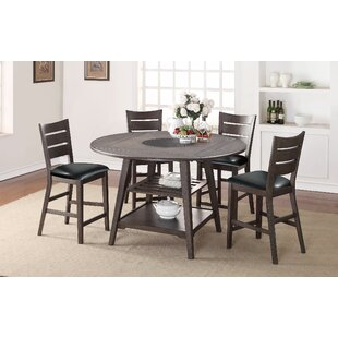 Gracie Oaks Caruso Drop Leaf Dining Table