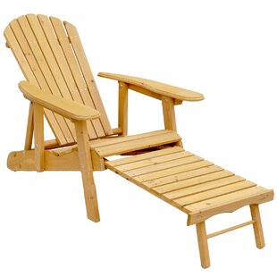 Leisure Season Wood Adirondack Chair