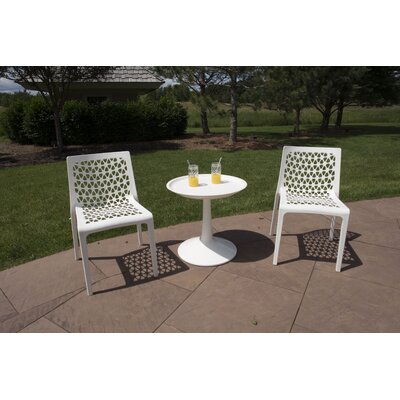 Waymire 3 Piece Bistro Set by Ivy Bronx Design