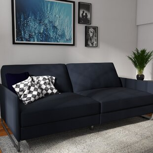 Callion Convertible Sofa by Wade Logan
