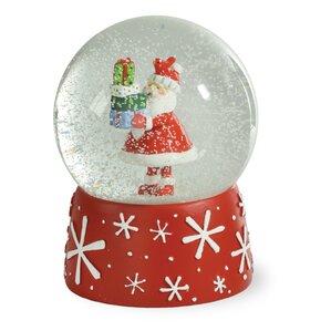 let it snow christmas tree musical snow globe northlight seasonal 360