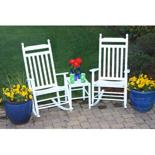 August Grove Janelle Asheville Rocking Chairs (Set of 2)