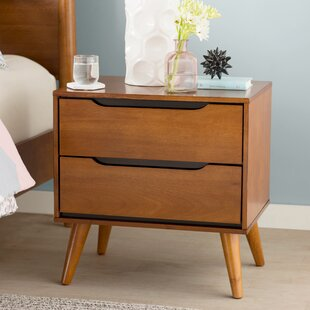 Mason 2 Drawer Nightstand by Mercury Row