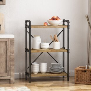 Celina 3 Shelf Etagere Bookcase