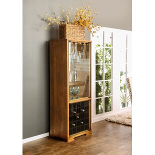 Caswell Transitional Floor Wine Cabinet by Red Barrel Studio