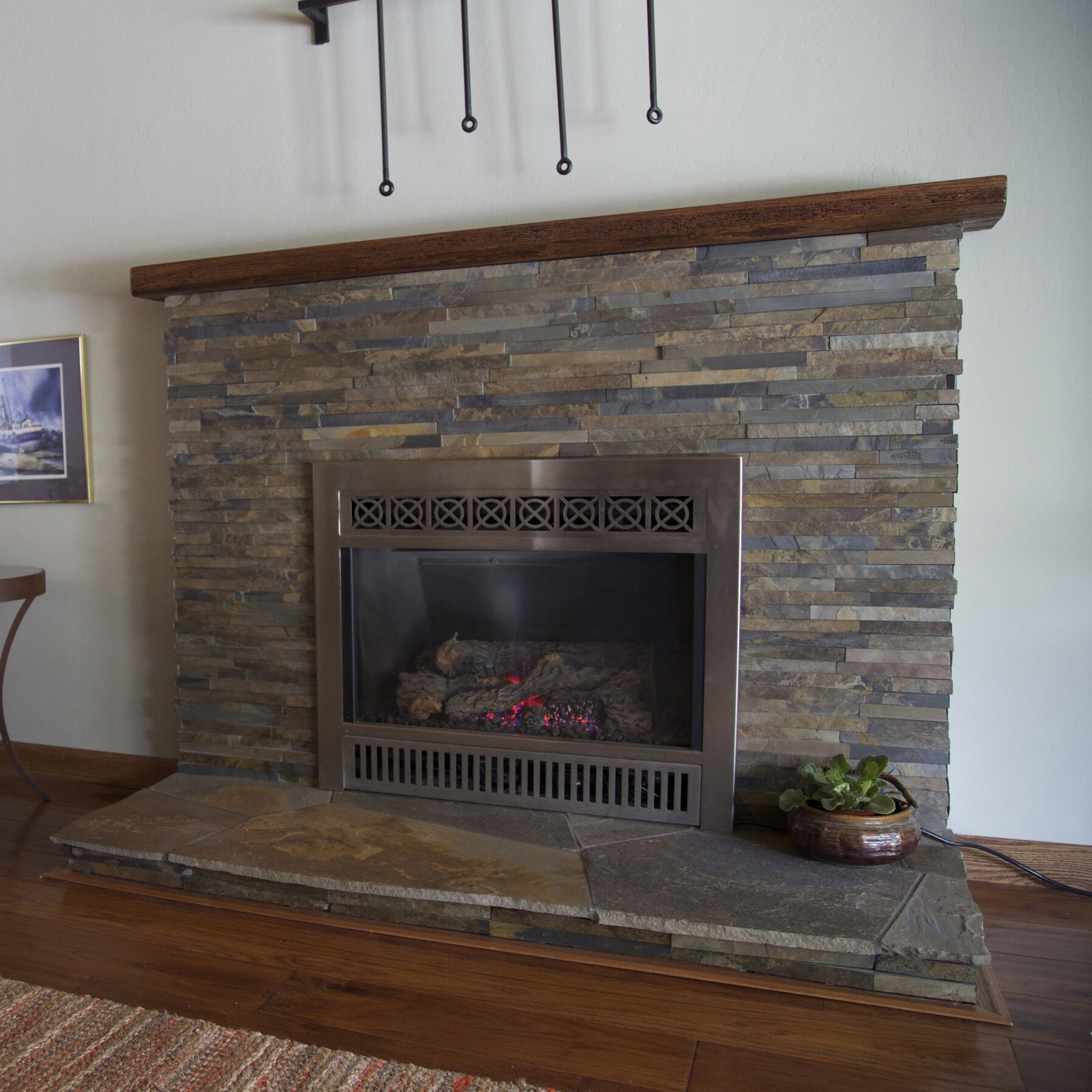 kellani cladding 23 x 4 natural stone splitface tile wayfair rh wayfair com split face stone tile fireplace