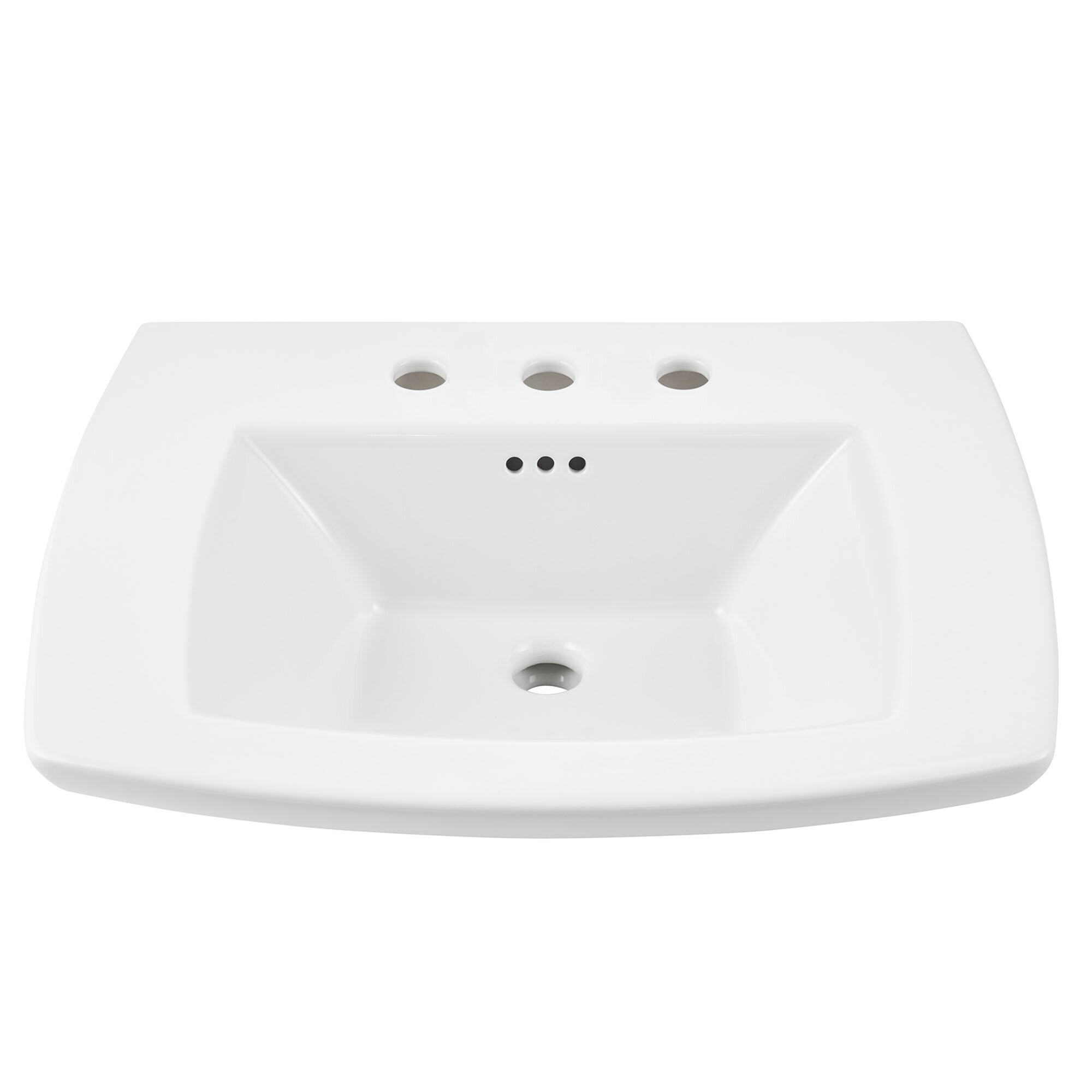 American Standard Edgemere White Ceramic Rectangular Console