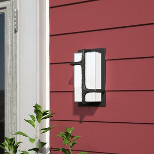 Brayden Studio Sievers 1-Light Outdoor Sconce