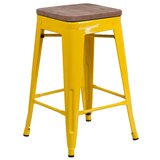 Carole Solid Wood Bar & Counter Stool by Williston Forge