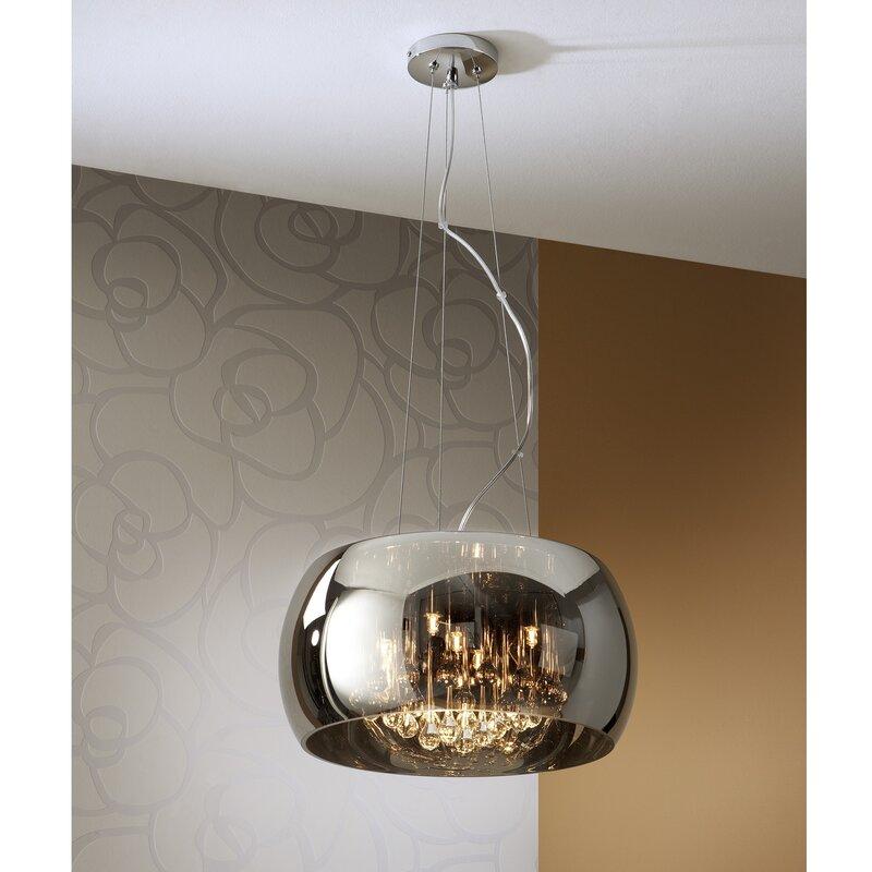 Schuller Argos Light Glass Pendant Reviews Wayfaircouk - Argos bedroom lights
