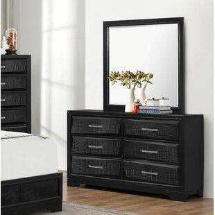 Wrought Studio Oona 6 Drawer Double Dresser