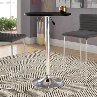 Claremont Adjustable Height Pub Table Ebern Designs