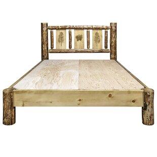 Shelley Pine Platform Bed by Loon Peak