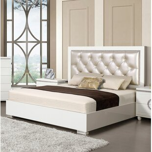 Orren Ellis Krueger Upholstered Panel Bed