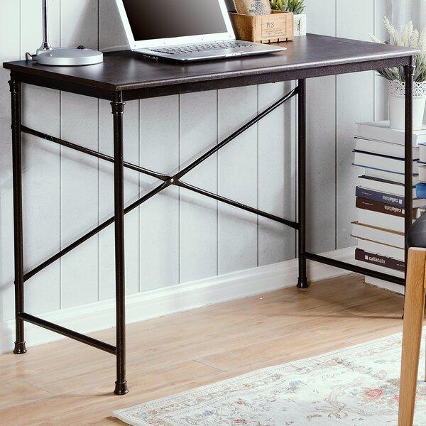 New Homestar Prospero Writing Desk with Metal Leg & Reviews   Wayfair RS51