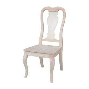 Willimbury Solid Wood Dining Chair (Set of 2) One Allium Way