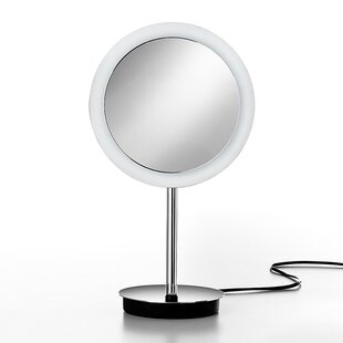 Affordable Mirror Pure Mevedo 3X Magnifying Makeup Mirror with Lighting By WS Bath Collections