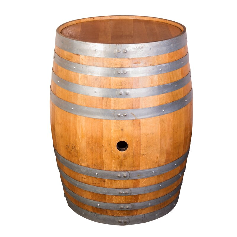 Napa East Collection Decorative Whole Refinished Wine Barrel