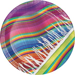 Serape Paper Dessert Plate (Set of 24)