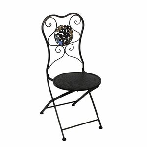 Carraton Metal Side Chair by Fleur De Lis Living