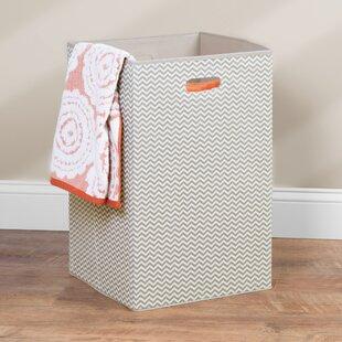 Top Reviews Folding Laundry Hamper By Rebrilliant
