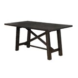 Greeson Counter Height Solid Wood Dining Table by Gracie Oaks